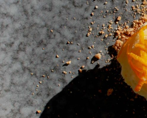 orange sorbet - Italian Notes