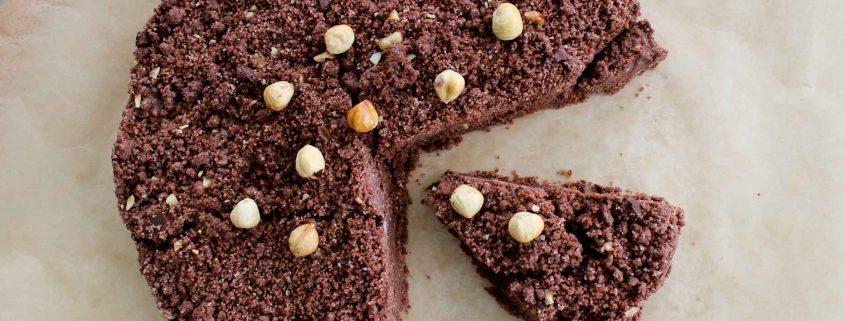 Nutella Chocolate Crumble Cake - Italian Notes