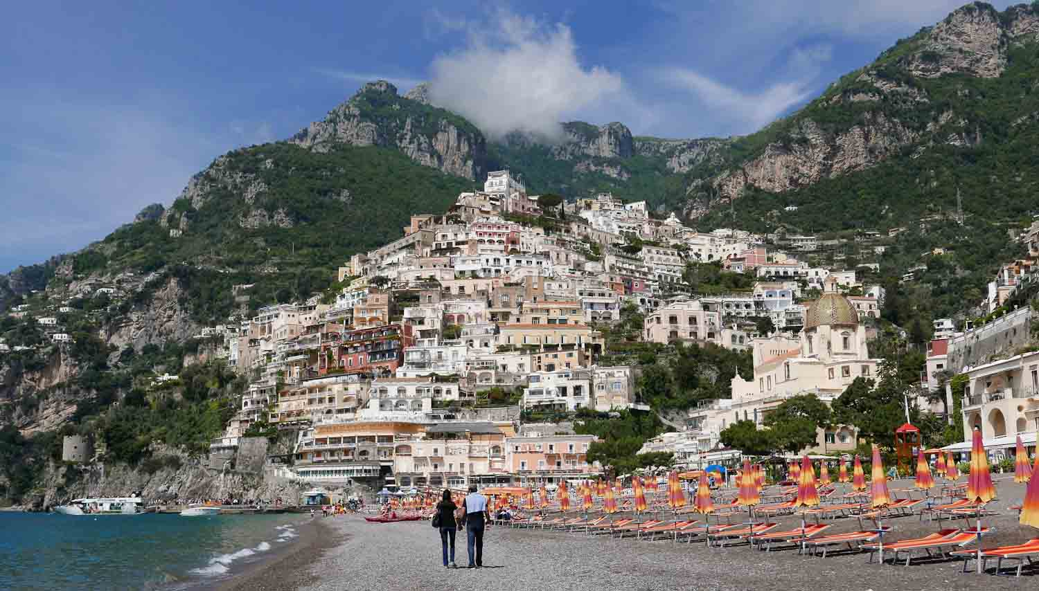 Positano beach - Italian Notes