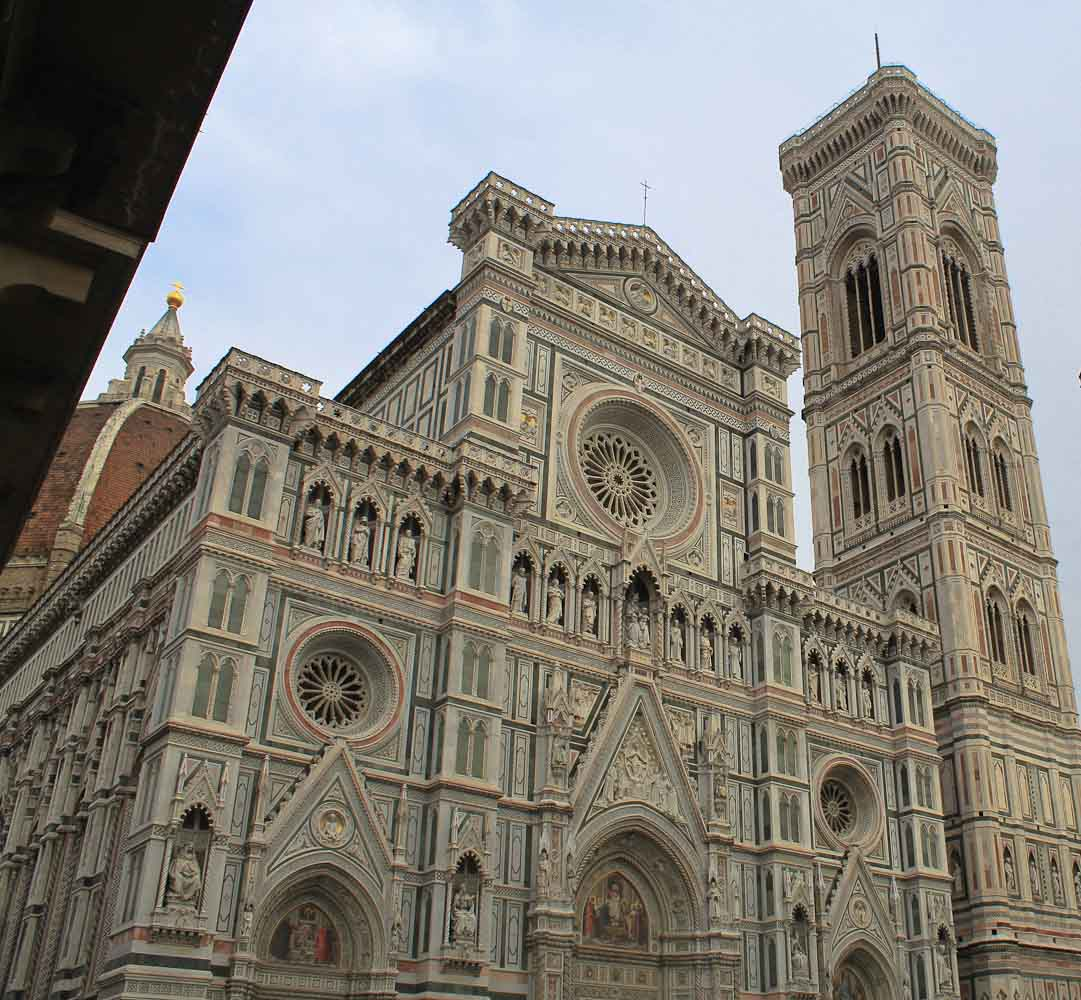Campanile di Giotto Best Views of Florence - Italian Notes