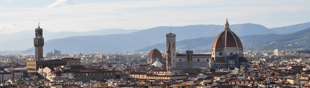 Short Guide To The Best Views Of Florence Italian Notes