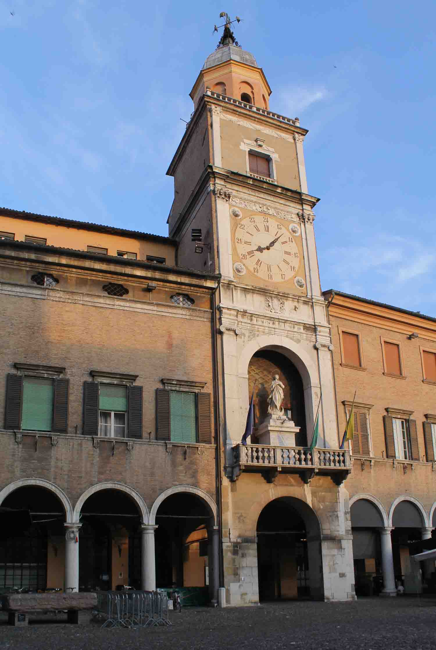 Unesco Clock Tower World Heritage in Modena - Italian Notes