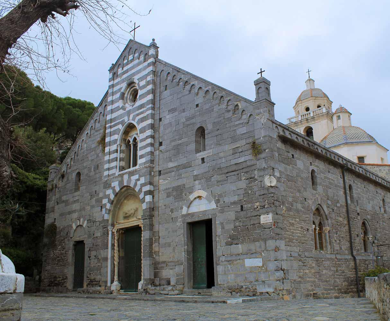 Chiese di San Lorenzo Porto Venere - Italian Notes