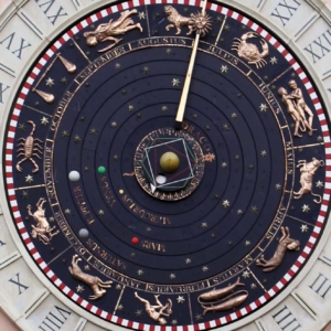 Astronomical clock in Macerata - Italian Notes