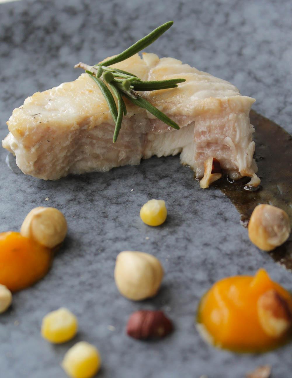 Catfish with carrot cream - Italian Notes