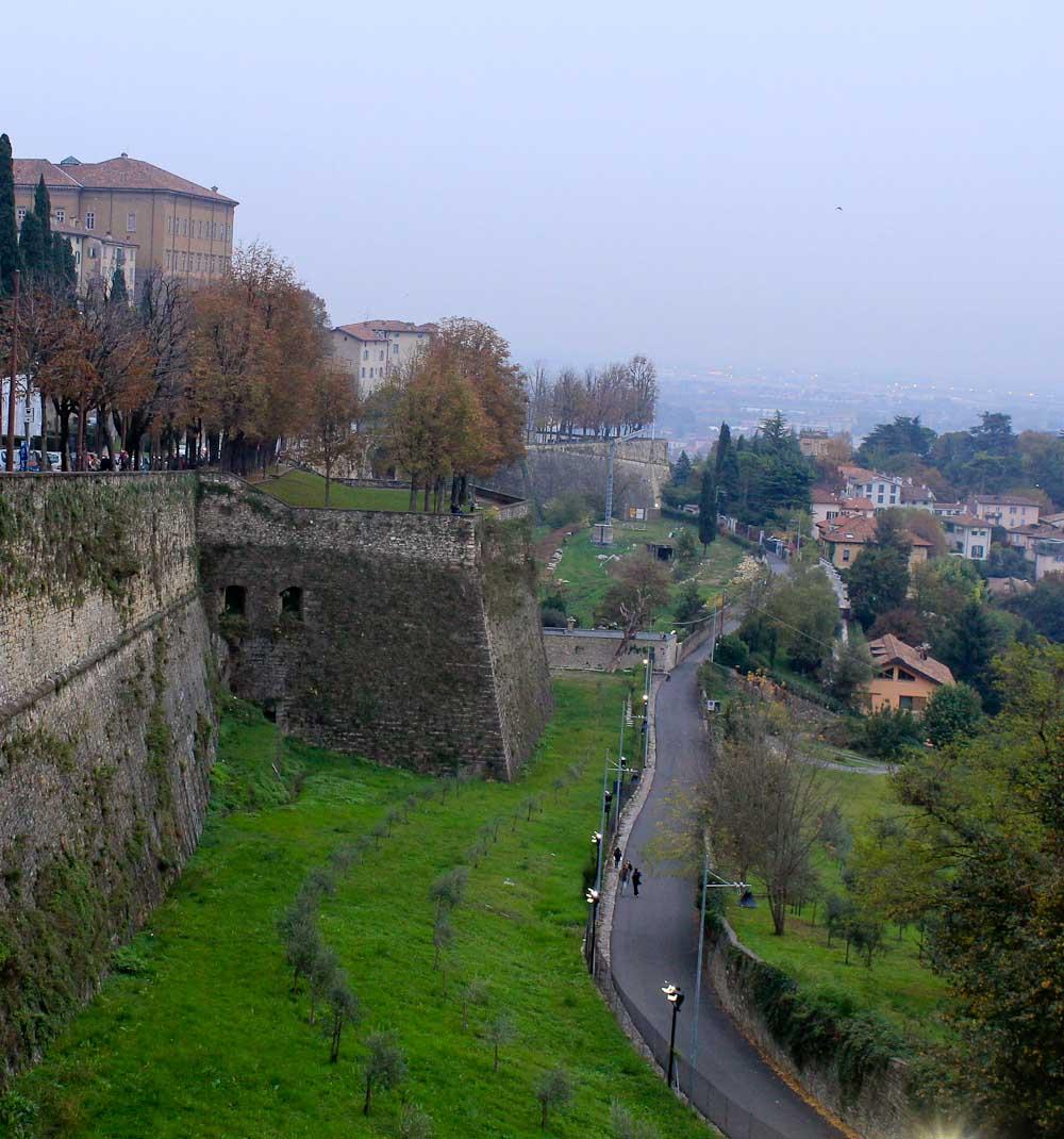 Explore Lombardy World Heritage - Venetian defence walls Bergamo