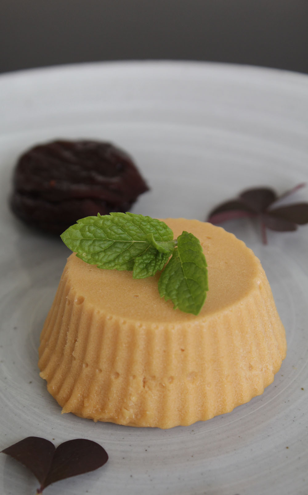Salted Caramel Mousse - Italian Notes