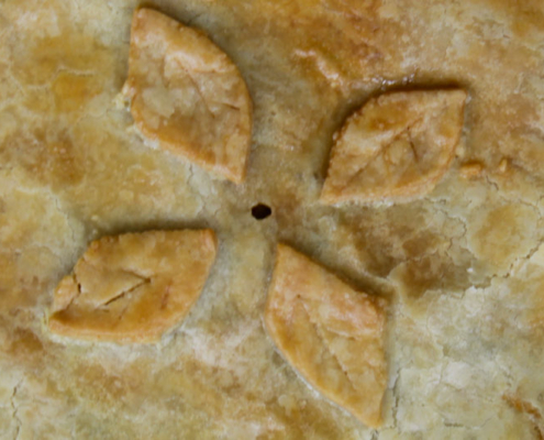 Savoury zucchini pie - Italian Notes
