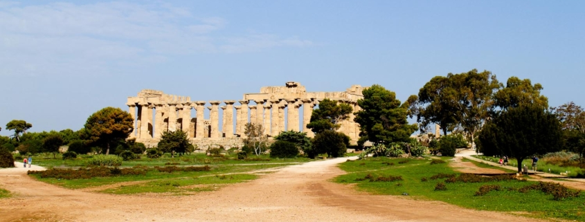 The Greek Temples of Selinunte in Sicily - Italian Notes