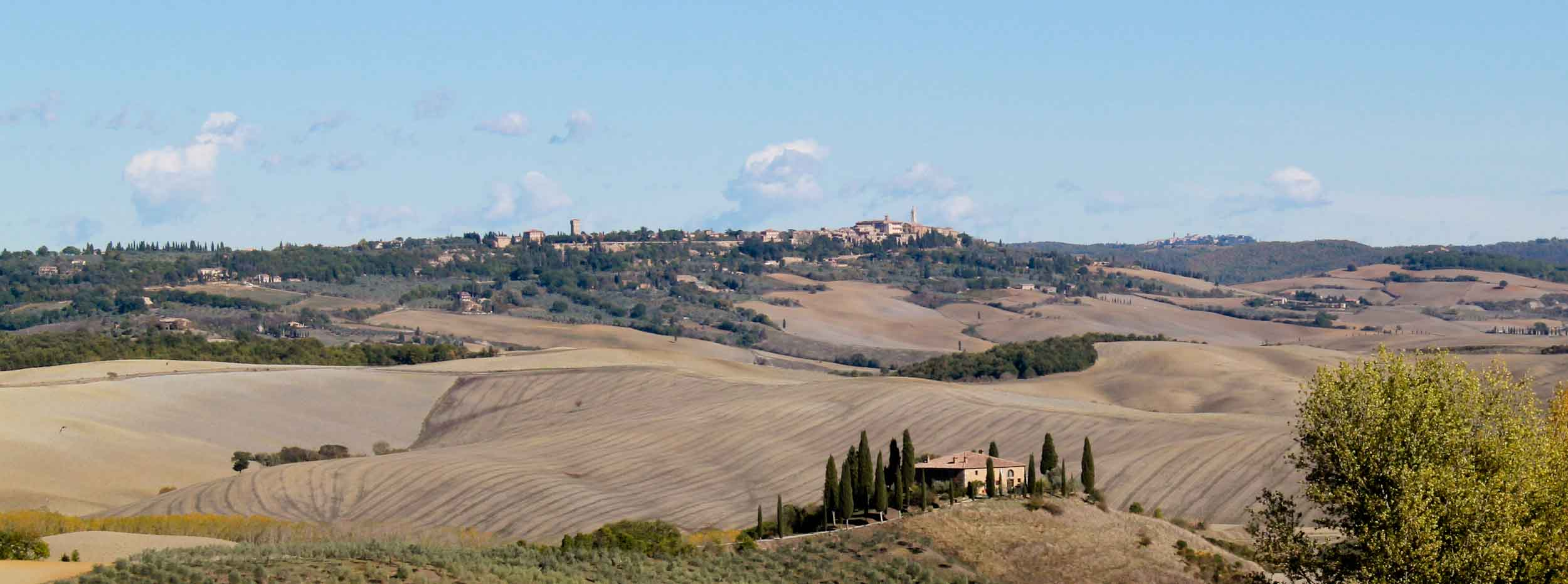 Photo from driving itinerary through Val d'Orcia - Italian Notes
