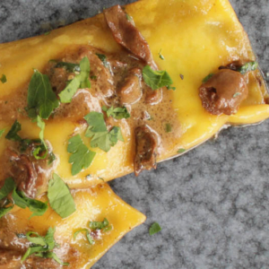Ravioli with porcini mushroom sauce - Italian Notes