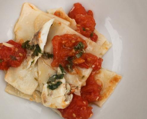 Pasta con orata - Italian Notes