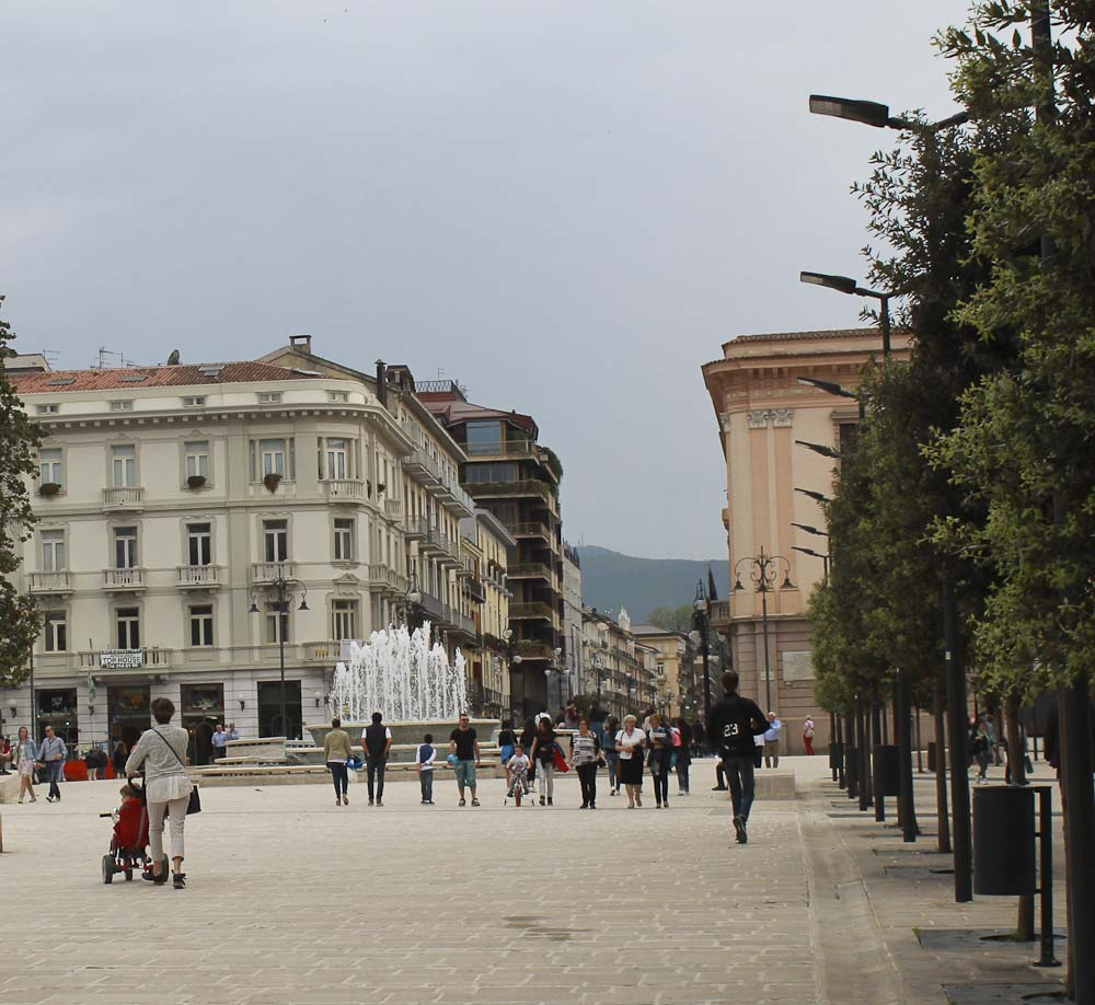 Monuments in Avellino