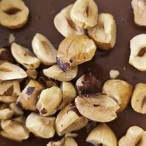 Chocolate panna cotta