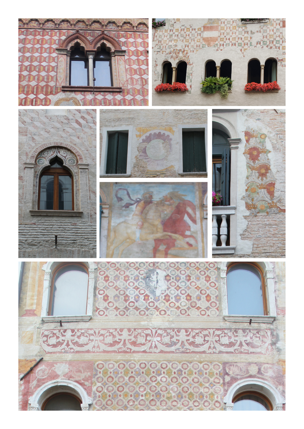 Painted houses of pordenone