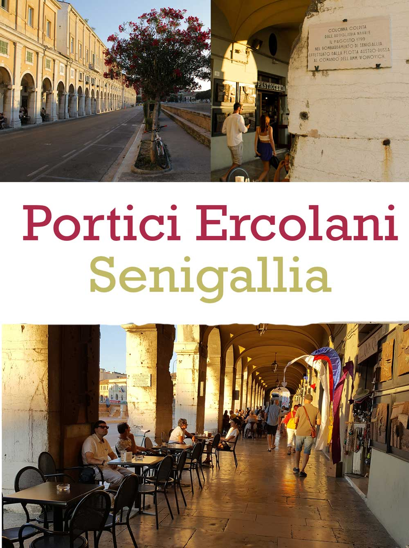 Portici Ercolani Senigallia - Italian Notes