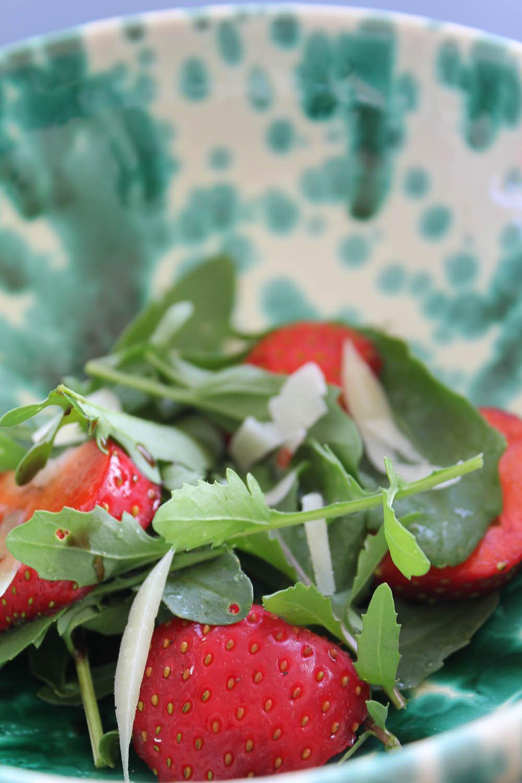Strawberry Rocket Salad - Italian Notes