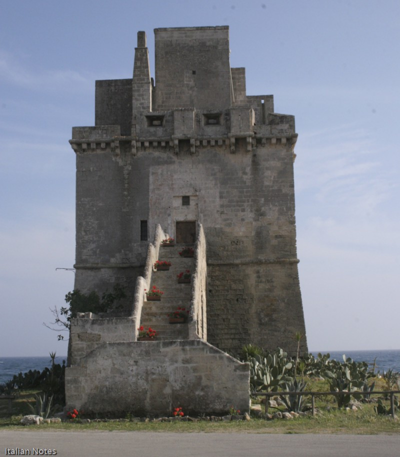 watchtowers in italy