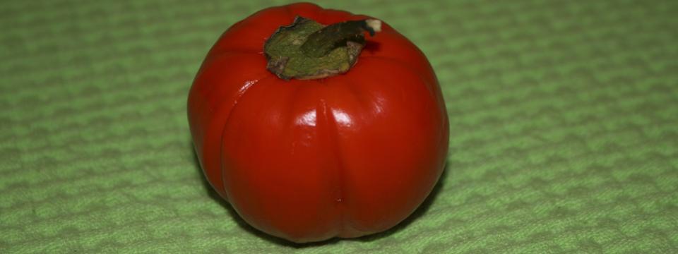 Photo of red aubergine from Rotonda